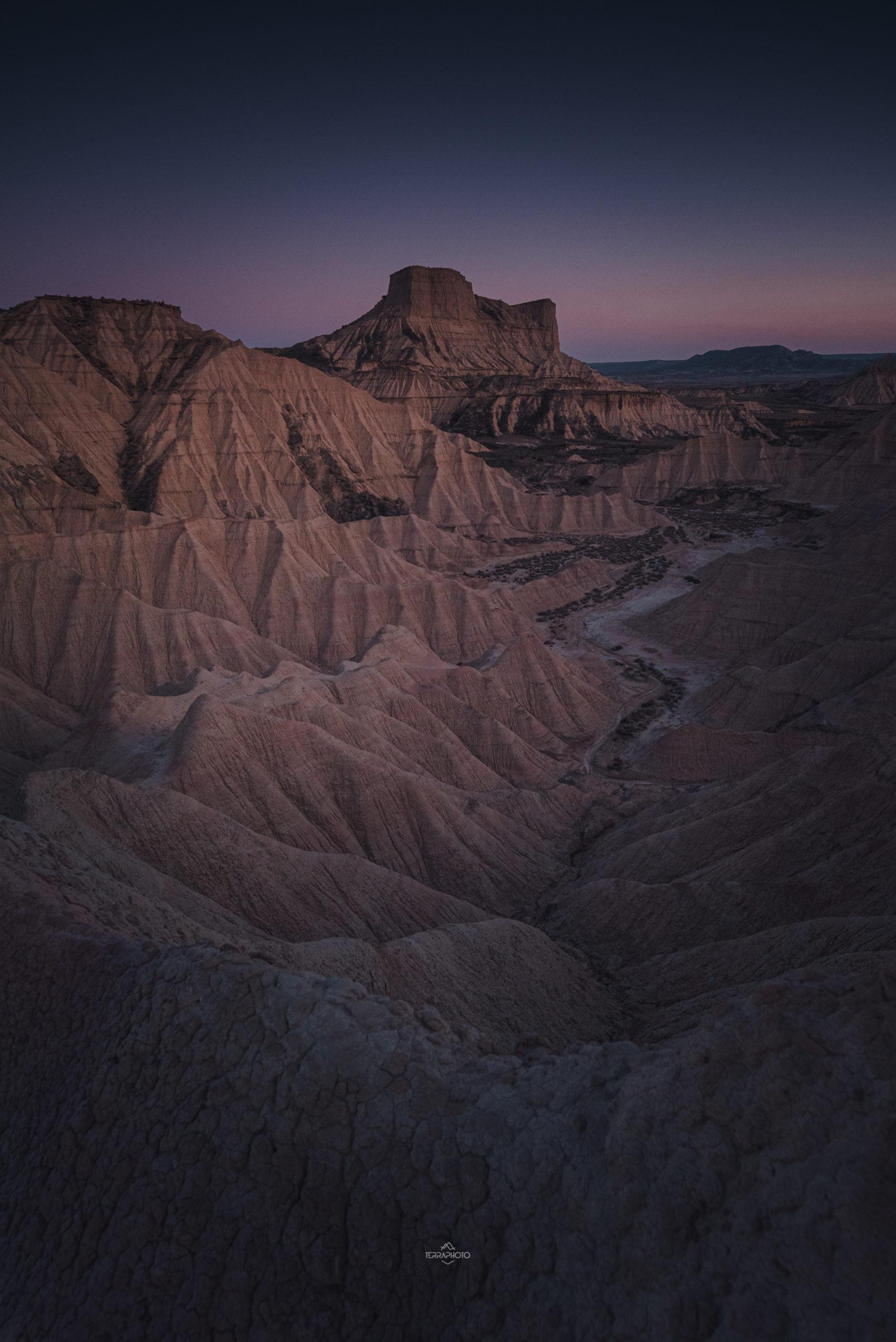 Le désert des Bardenas Reales. stages et voyages photo ©terra photo