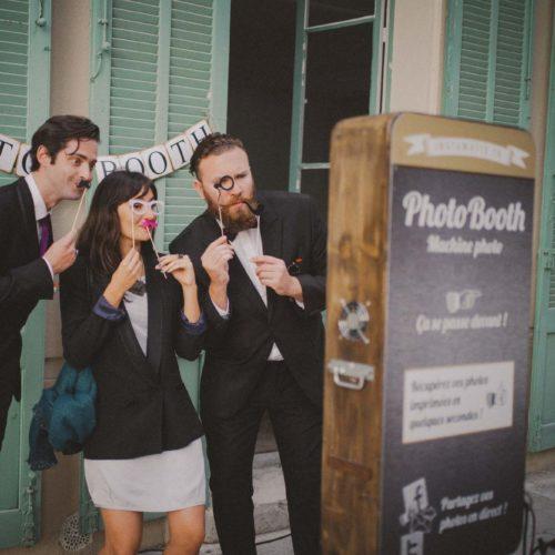 PhotoBooth exemple - Photographe de mariage