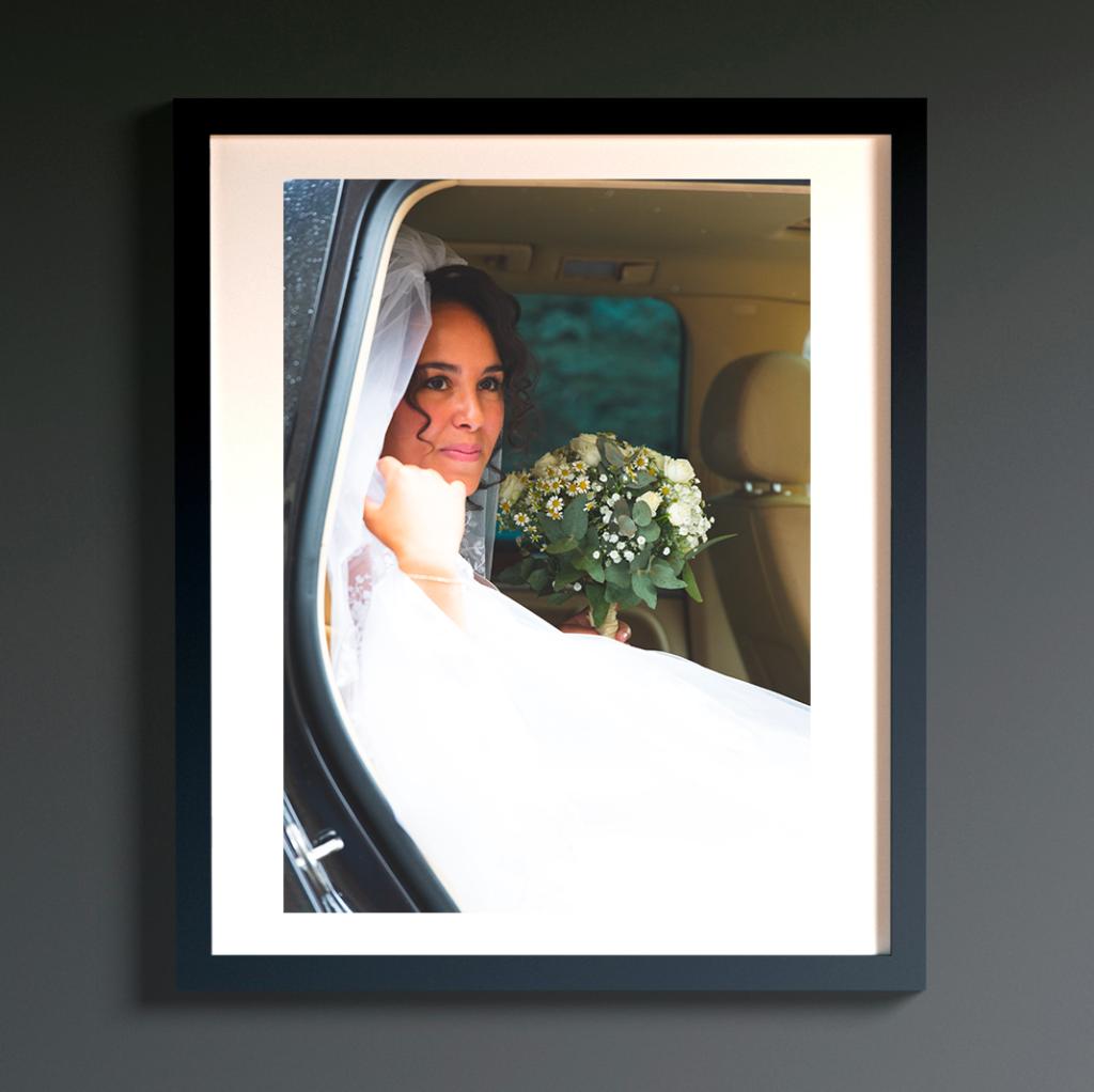 tirage photo et encadrement - Photographe de mariage