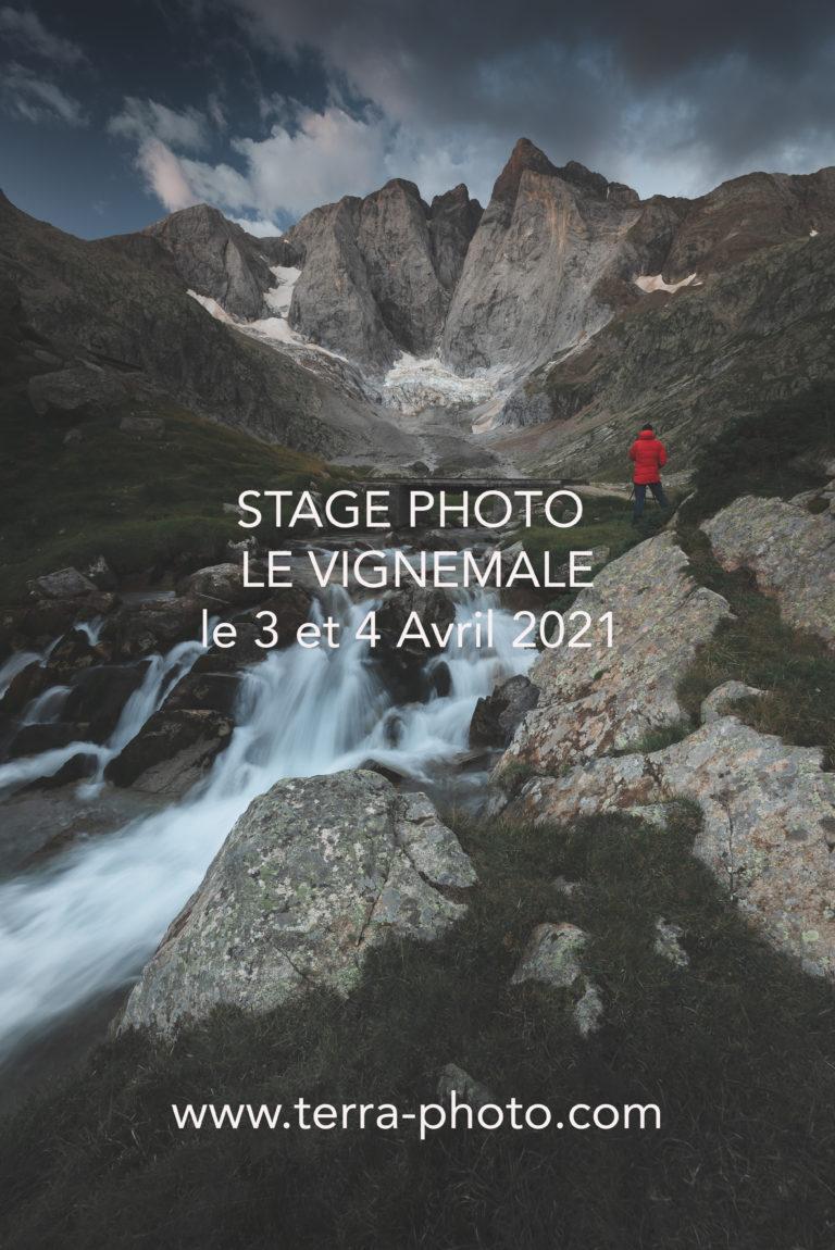 Le Vignemale - Oulettes de Gaube refuge stage photo ©terra Photo