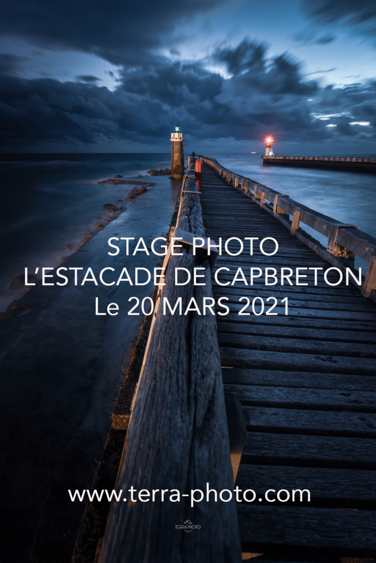 Stage photo l'estacade de Capbreton ©terra photo