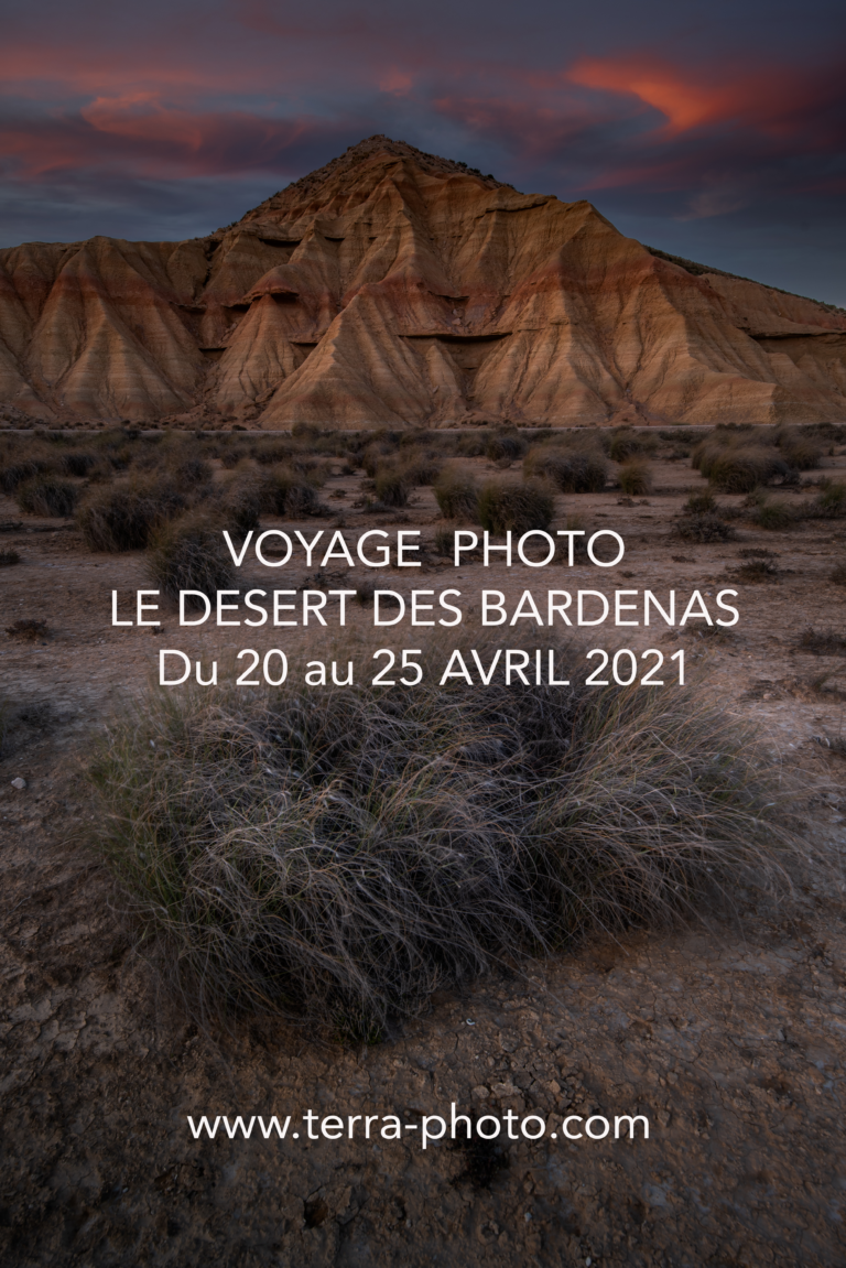 Désert Bardenas Reales stages et voyages photo ©terra photo