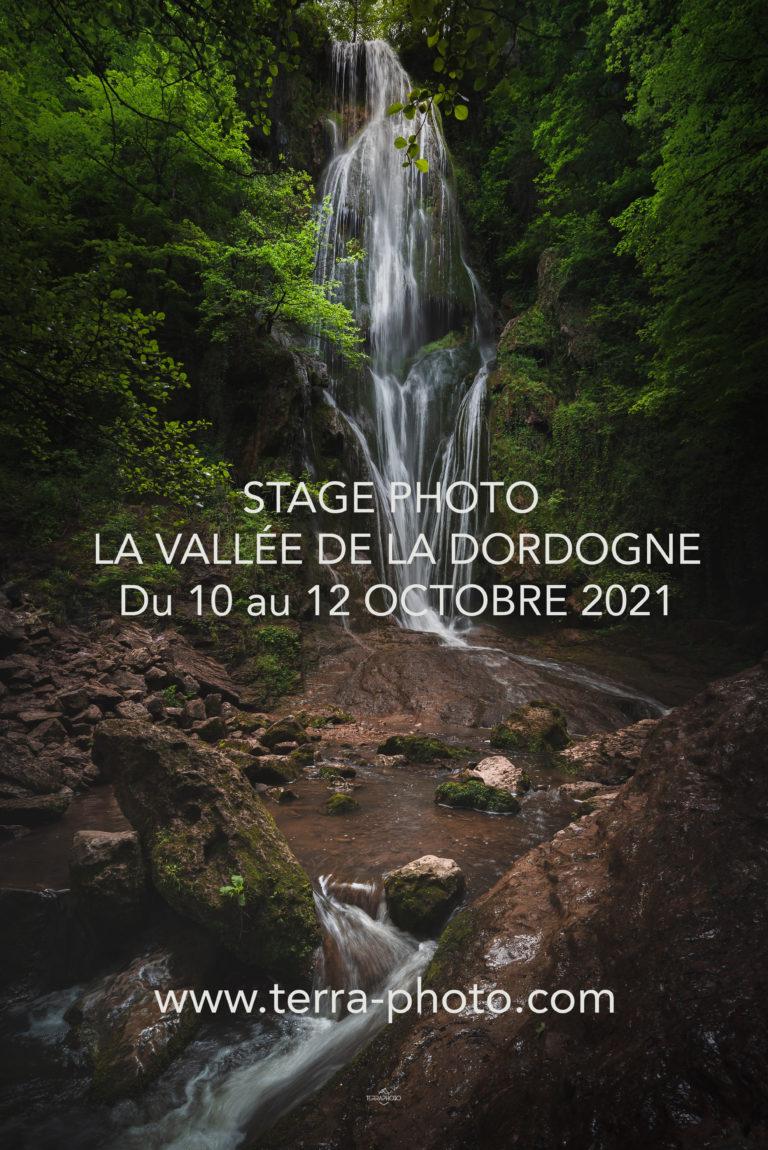la vallée de la Dordogne stage photo terra photo